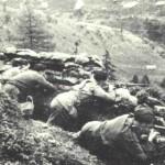 Partigiani sul Passo Mortirolo