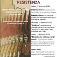 La locandina con le iniziative organizzate in occasione del XXV Aprile, anniversario della Liberazione