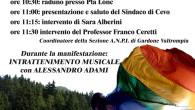 La manifestazione, che ricorre nell'anno del72° Anniversario dello storico raduno e a 71 anni dalla Liberazione, vuole ricordare l'importante unione d'intenti tra i partigiani della 54aBrigata Garibaldi e la popolazione […]