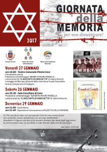 Locandina Memoria 2017