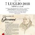 """""""IL RACCONTO DI GIOVANNI"""" Sabato 7 Luglio 2018 Ore 21.00 Museo della Resistenza di Valsaviore. Il MUSEO riaprirà il 3 luglio 2018( clicca qui )"""