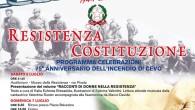 75° anniversario dell'incendio di Cevo per mano fascista. Non dimentichiamolo mai.