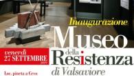 Inaugurazione del Museo della Resistenza di Valsaviore Venerdì 27 settembre 2019 ore 10.00 Cevo (BS)